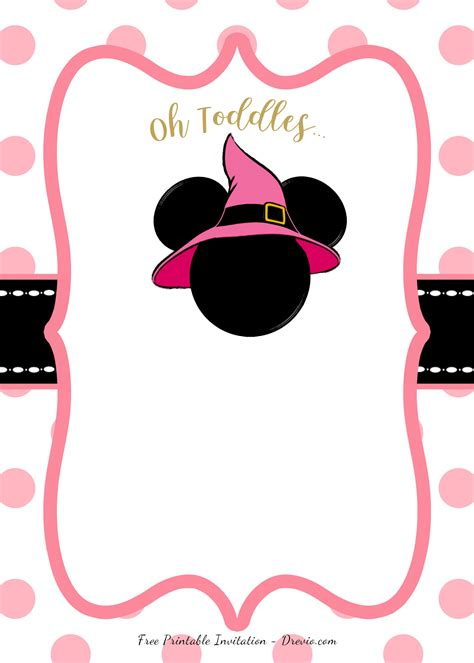 pink minnie mouse birthday party diy printable