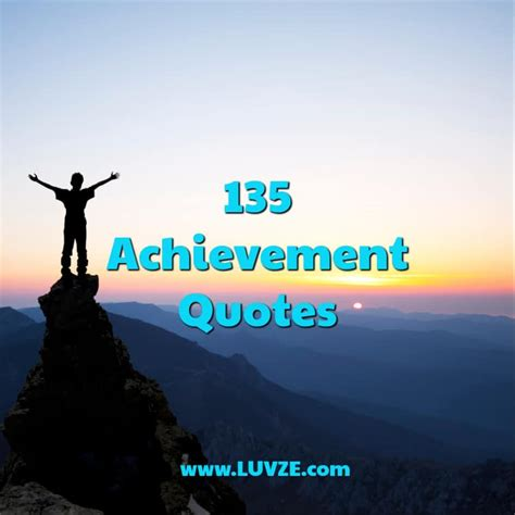achievement quotes  sayings