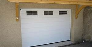 pose de porte de garage motorisee drome ardeche With porte de garage enroulable et porte appartement
