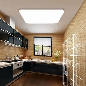 Deckenlampe Led Küche : 36w led deckenlampe deckenleuchte kaltwei wohnzimmer k che b ros wandlampe ip44 602747056427 ebay ~ Whattoseeinmadrid.com Haus und Dekorationen