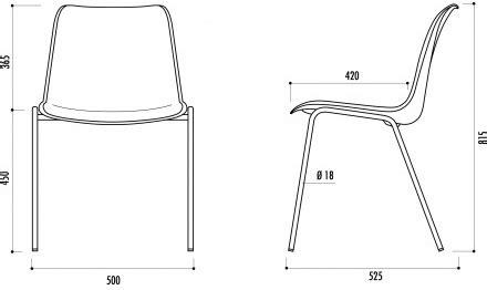technique de la chaise chaise coque plastique de collectivité chaise coque