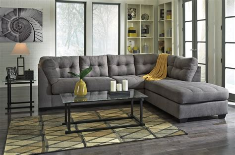 Maier Charcoal Raf Sectional From Ashley (45200-17-66