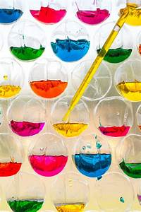 science experiment for exploring color theory