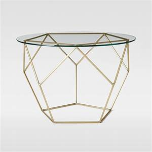 Origami side table so that39s cool for West elm geometric coffee table