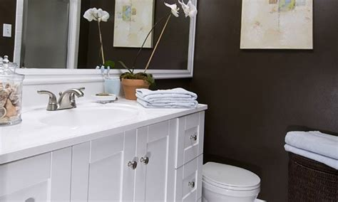 Bathroom Makeovers On A Tight Budget by Rental Apartment Shelves E Mail Is Post Modern