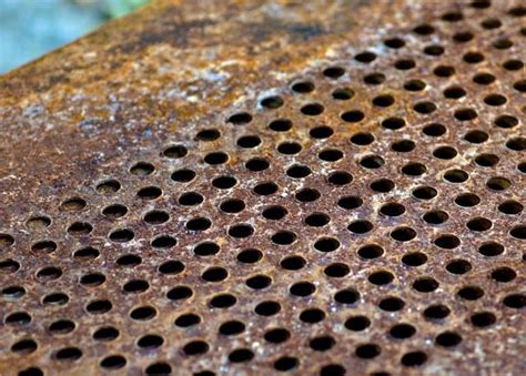steel rust causes oxidation process molecules metals takes long