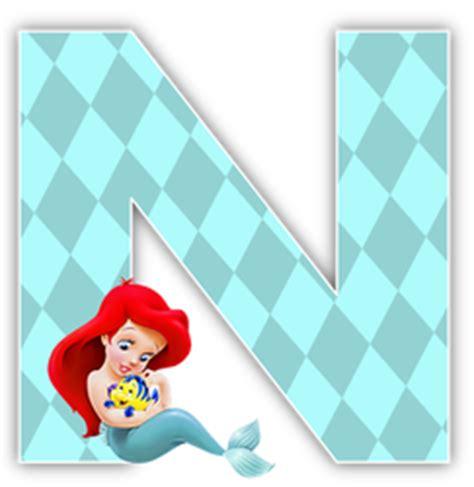 alfabeto de la sirenita con flounder oh my alfabetos abeced 225 infantil pinterest