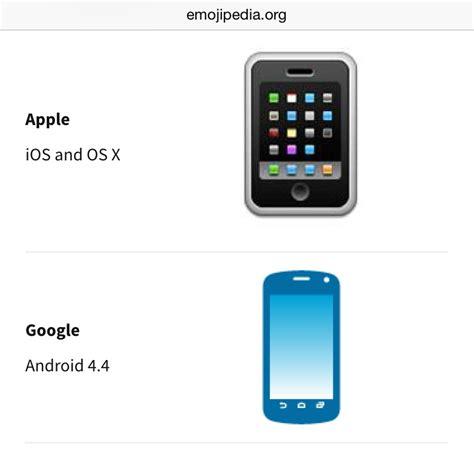 android iphone emoji emoji til the mobile phone emoji looks like an 10073