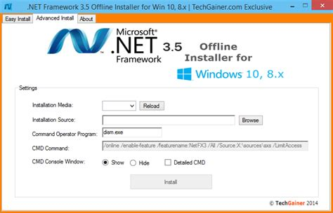 what is windows installer net framework 3 5 offline installer for windows 10 and 8