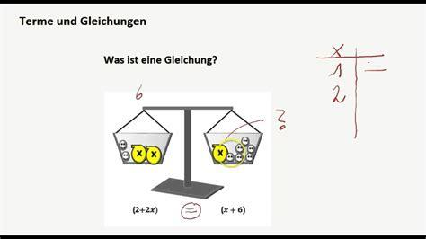 Terme Und Gleichungen  Was Ist Eine Gleichung? Youtube