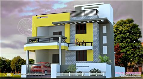 5 bedroom house plans elevations of residential buildings in indian photo