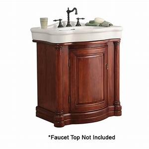 Foremost 30quot wingate single sink bathroom vanity deep for How deep is a bathroom vanity
