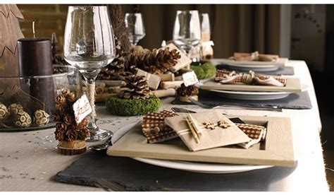 decoration de table champetre table table settings decor