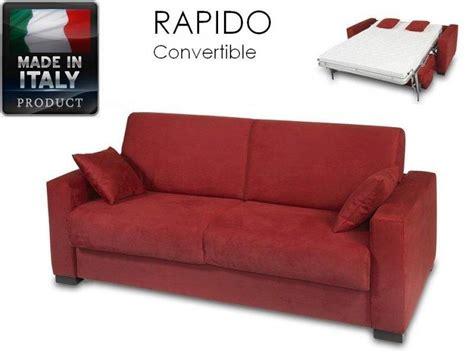 canape ouverture rapido 3 places dreamer convertible lit 140 190 14 couchage quotidien