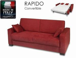 canape ouverture rapido 3 places dreamer convertible lit With canape convertible rapido 3 places
