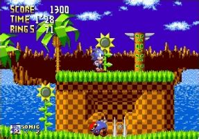 play sonic harder levels  sega genesis classic