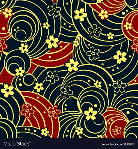 kimono floral floral kimono pattern royalty free vector image