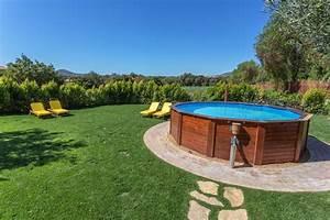 Piscine Semi Enterrée Coque : piscine semi enterr e une alternative tendance mais ~ Melissatoandfro.com Idées de Décoration