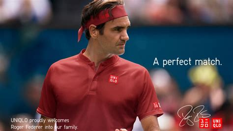 Uniqlo Finally Got Around To Selling Roger Federer Gear