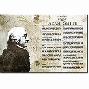 Amazon.com: The Wisdom of Adam Smith Poster (with ...