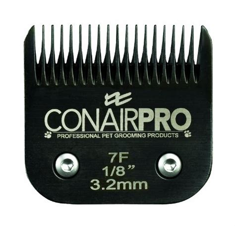 conair pro steel pet clipper replacement blade size 7f