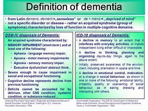 Organic mental disorders II: dementias - ppt download