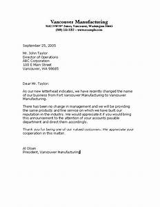 Example Of A Good Business Letter  The Best Letter Sample