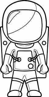 Astronaut Coloring Pages Cartoon Printable Space Colouring Preschool Closed Moon Sheets Coloringbay Getdrawings Adults Nice Earth Getcolorings Wecoloringpage Craft sketch template