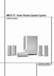 Harman Kardon Hkts 11  Serv Man10  User Guide    Operation