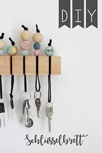 Schlüsselanhänger Selber Machen Holz : kampf gegen das schl sselchaos mit einem diy schl sselbrett diy ~ Orissabook.com Haus und Dekorationen