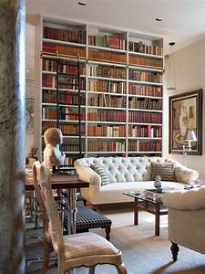 30 Classic Home Library Design Ideas Imposing Style ...