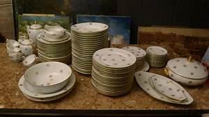 Service De Table Porcelaine : service de table en porcelaine de limoges vaisselle maison ~ Teatrodelosmanantiales.com Idées de Décoration