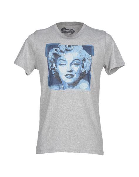 kaos t shirt wwf kaos t shirt in gray for grey lyst