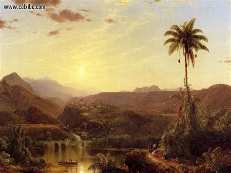 drawing painting frederic edwin church picture nr