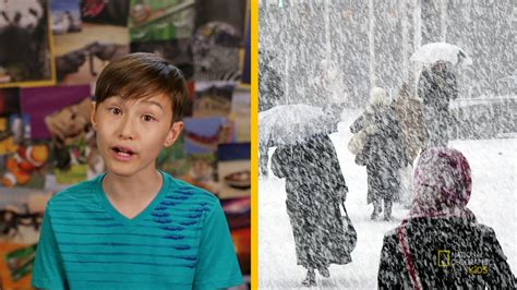 chill out with blizzards nat geo kids weather playlist youtube