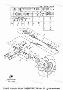 Yamaha Side By Side 2006 Oem Parts Diagram For Rear Wheel