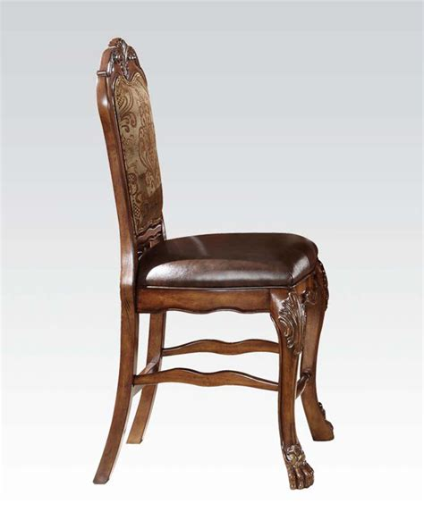 acme traditional counter height chair dresden ac12162 set