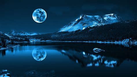 Wallpapers, Full Moon, Moon, Night Wallpapers Hd / Desktop