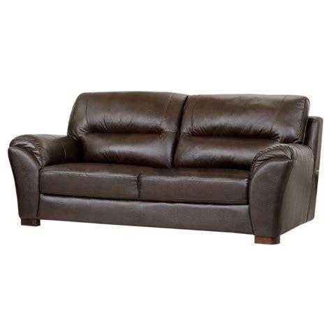 abbyson living leather sofa abbyson living cton leather sofa in espresso ci 1801