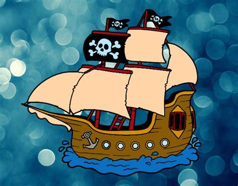 Barco En Una Tormenta Dibujo by Como Dibujar Un Barco Pirata Infantil Imagui