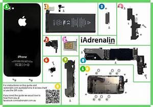 Iphone 4 Screw Chart