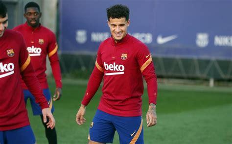 Coutinho back in squad for Atlético v FC Barcelona