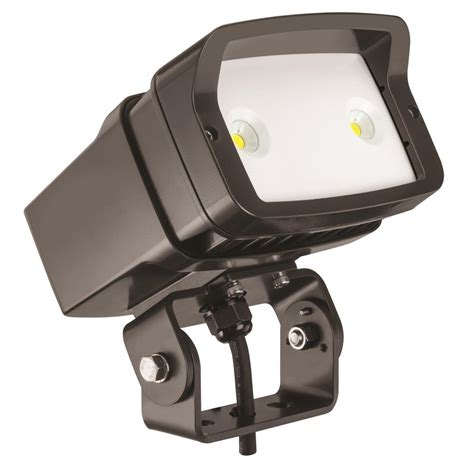 lithonia lighting ofl1 led bronze outdoor 4000k flood