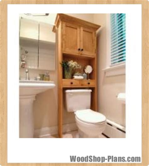 woodwork bathroom wall cabinets plans  plans