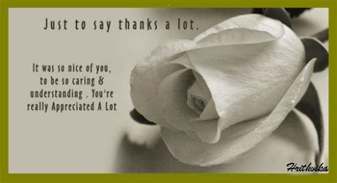 Note To Say Thanks A Lot Free For Everyone Ecards