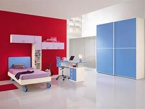 Armoire Murale Chambre : mobilier chambre enfant 100 id es cool pour vous inspirer ~ Melissatoandfro.com Idées de Décoration