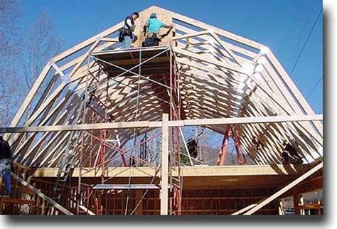 gambrel roof angles gambrel roof trusses gambrel roof
