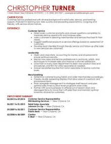 customer service customer service resume exle contemporary