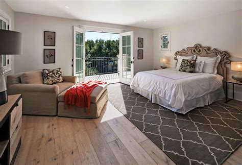 best flooring for bedrooms beautiful bedrooms with wood floors pictures designing 14525 | traditional master bedroom with hickory wide plank flooring