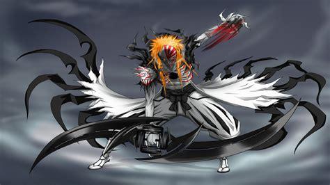 Anime Bleach Kurosaki Ichigo Hollow 1366x768
